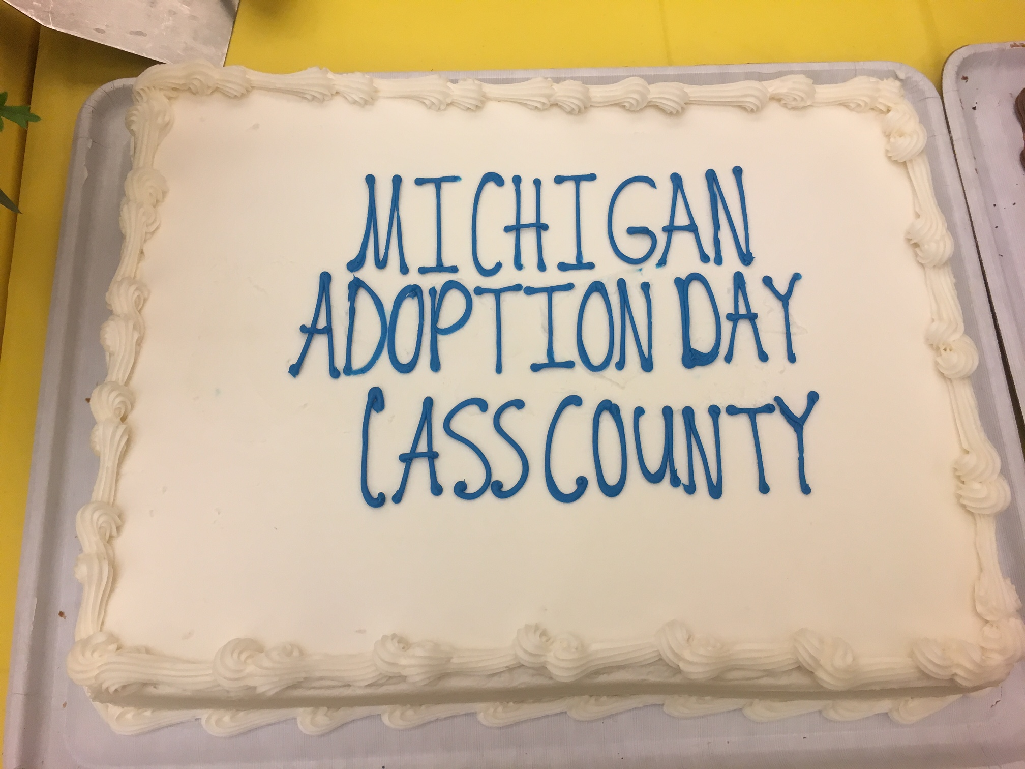 Cass County MI 15th Annual Adoption Day